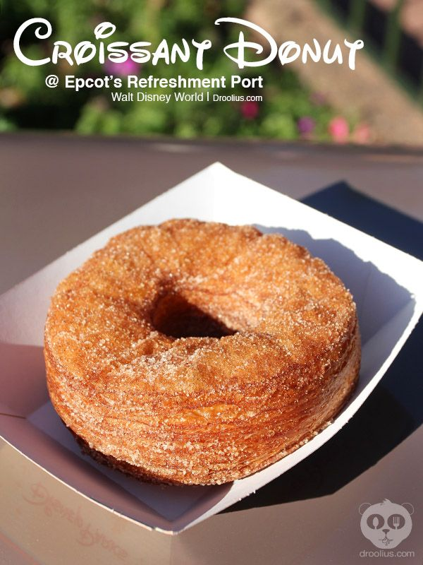 Epcot's Croissant Donut from @Droolius