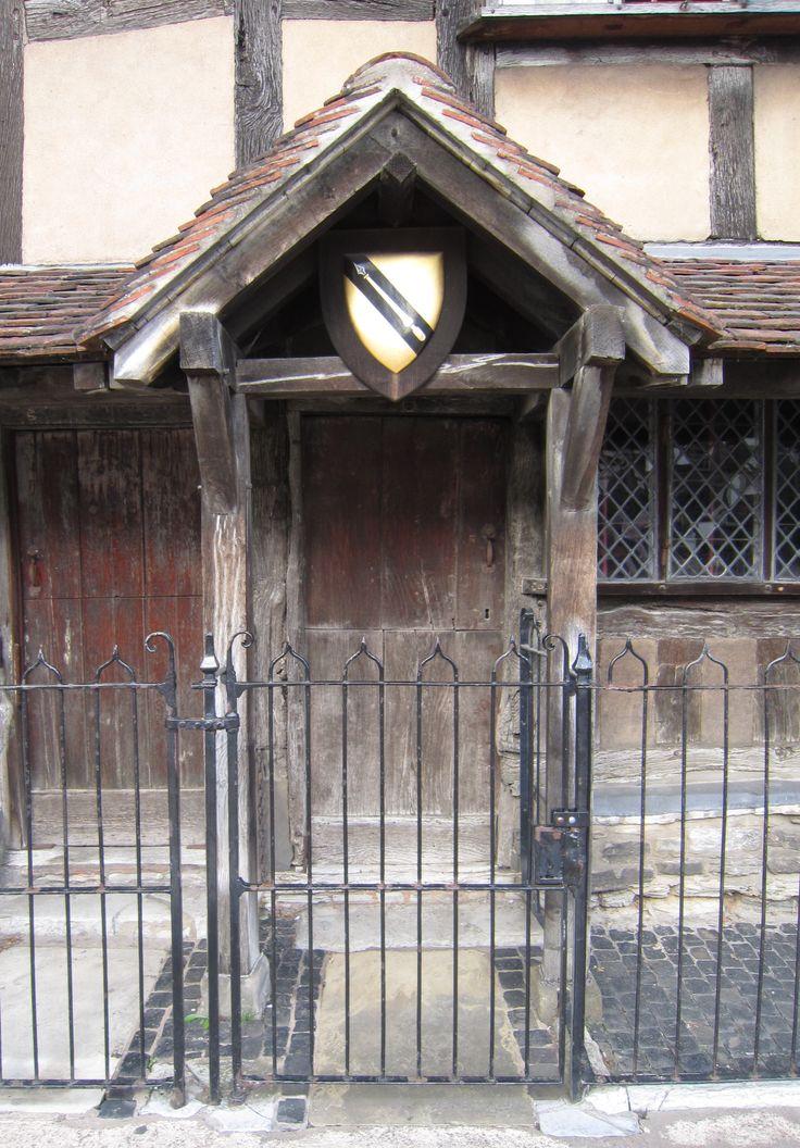 Shakespeare's Door, Stratford on Avon