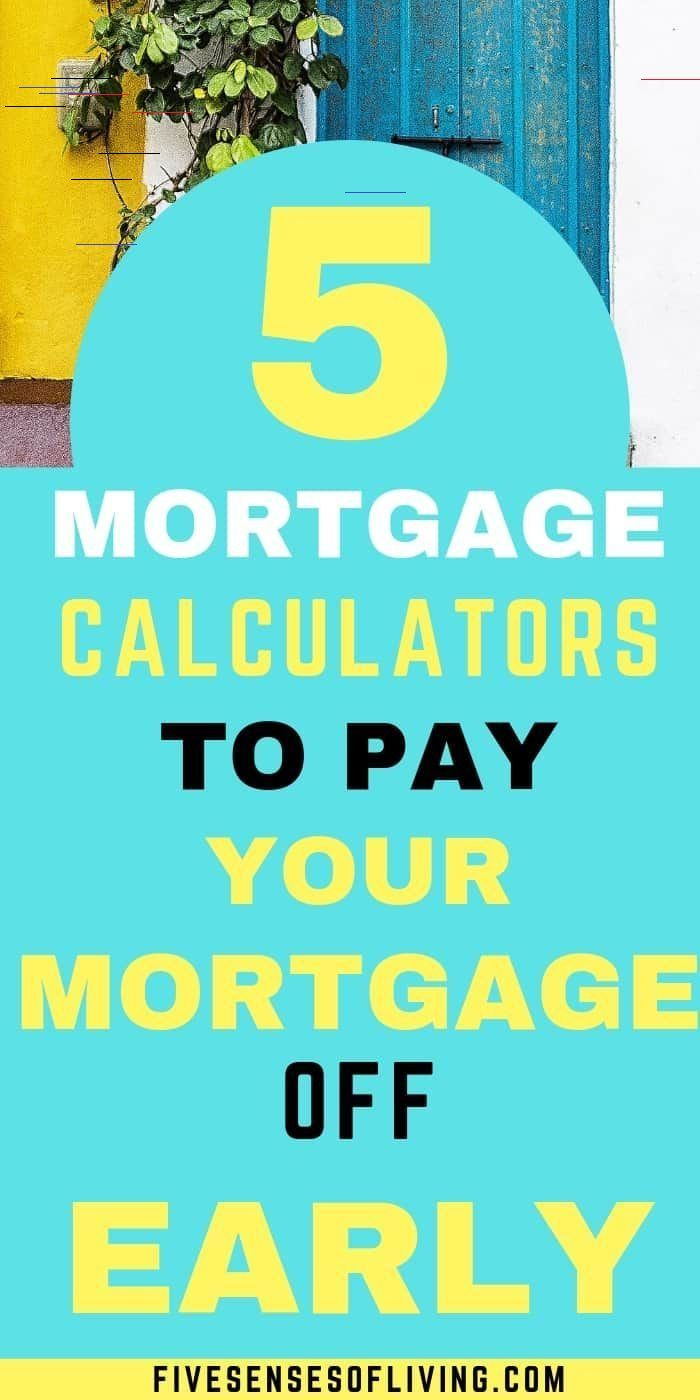 The Best Mortgage Calculator With Extra Payments In 2020 Paying Off Mortgage Faster Pay Off Mortgage Early Mortgage Loan Calculator