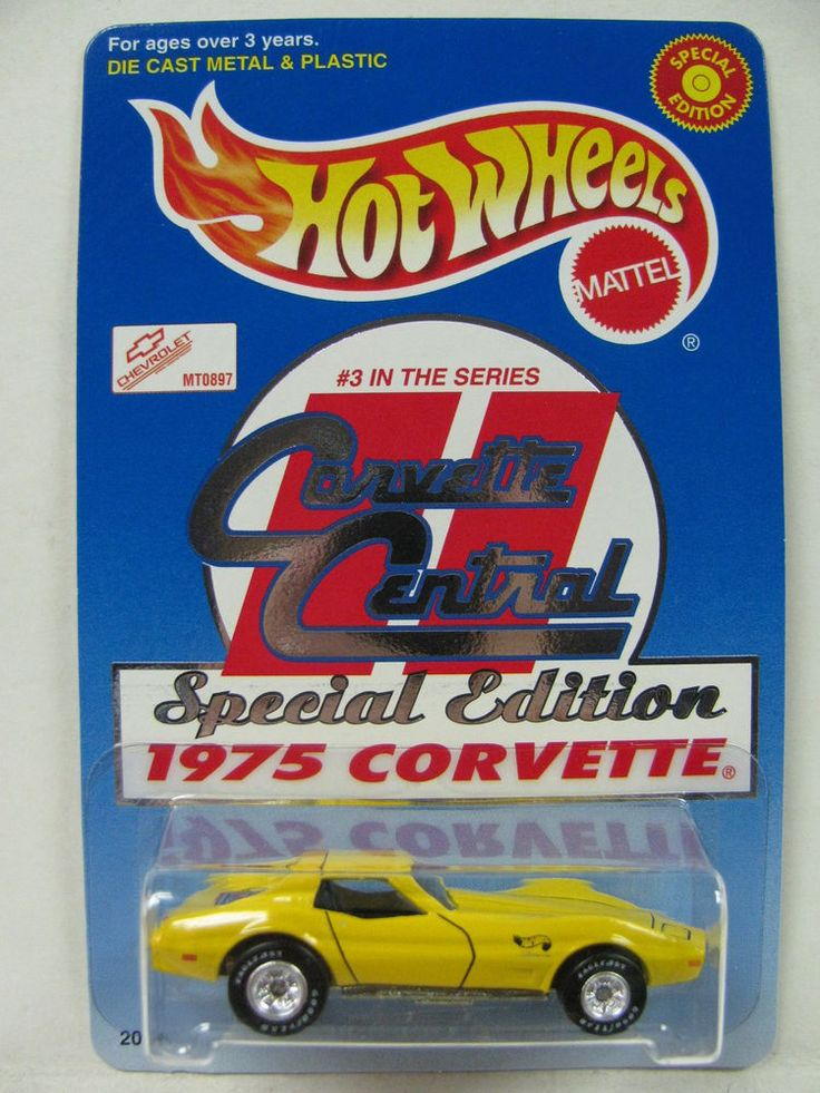Hot Wheels Corvette Central 1975 Corvette Buy it Now