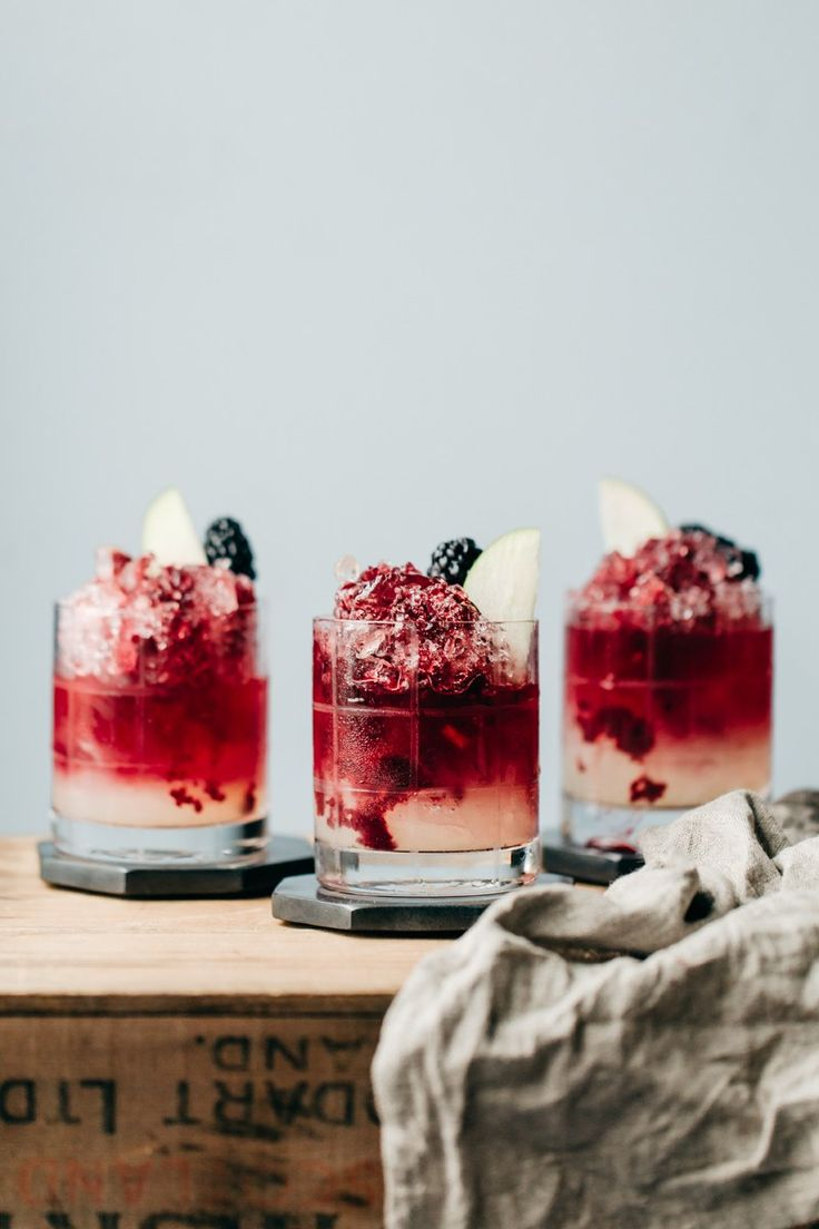 The Italian Bramble (Non-Alcoholic Cocktail)