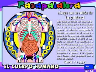 Acompañamiento Educativo: pasapalabra del cuerpo humano