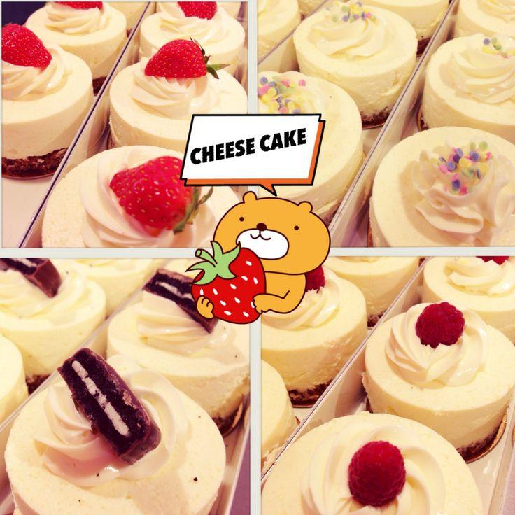 cheese cake, Daisy cake, Oréo, strawberry, lemon