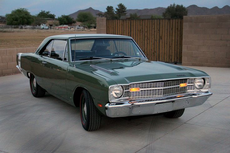 1969 DODGE DART SWINGER 340CI 4SPEED Click to Find out more - http://fastmusclecar.com/1969-dodge-dart-swinger-340ci-4speed/
