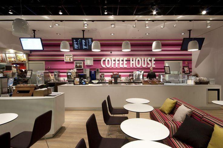 Dessert store design - Modern coffee shop interior ...