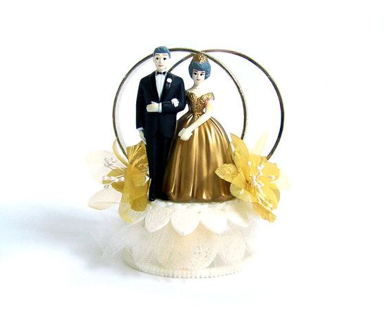 anniversary wedding cake toppers vintage 50th anniversary wedding cake topper 50th 10787