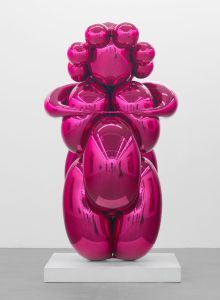 Jeff Koons: New Paintings and Sculpture at Gagosian Gallery and Jeff Koons: Gazing Ball at David Zwirner
