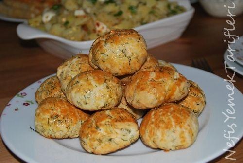 Dereotlu Poğaça - Nefis Yemek Tarifleri: Poğaça Tarifleri, Dereotlu Pogaca, Dereotlu Poğaça, Pastry Recipe, Bolsahye Recipes