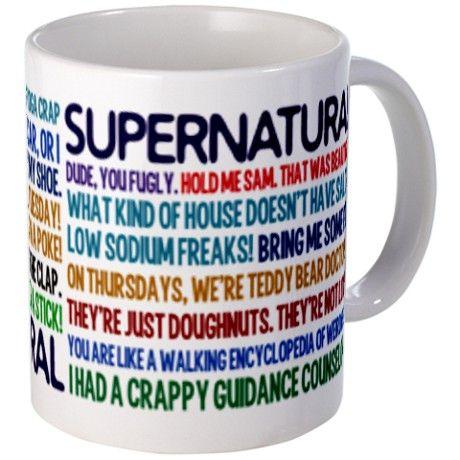 Supernatural TV Show Mug