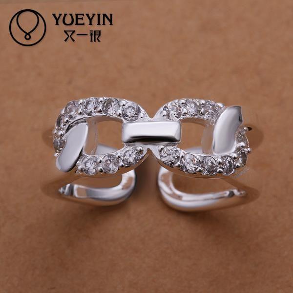 R211 в продаже ювелирных украшений anillos де-плата серебряные кольца для женщин обручальные кольца оптовая продажа анель feminino бижутерии