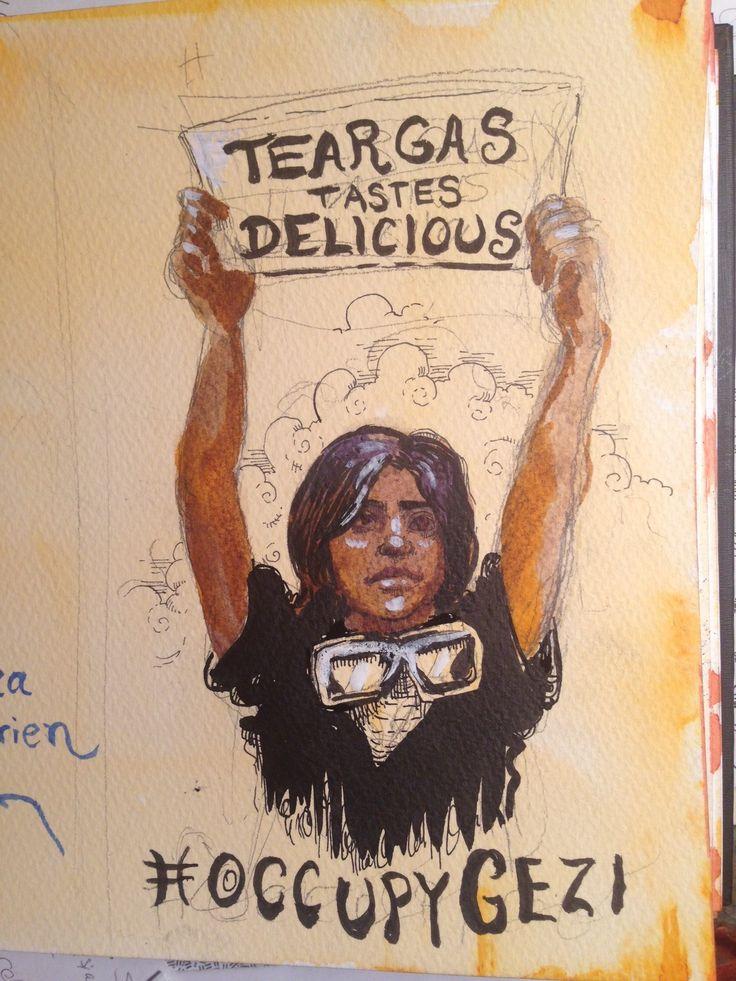 teargas #occupygezi #occupyturkey #direngezi #direngeziparkı #chapulling #direnankara