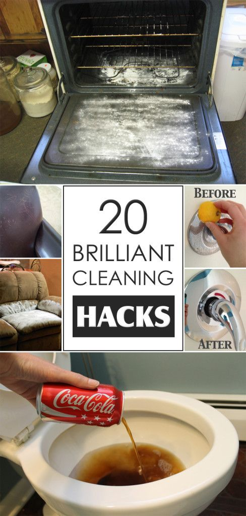 20 Brilliant Cleaning Hacks You Probably Didn't Know About
