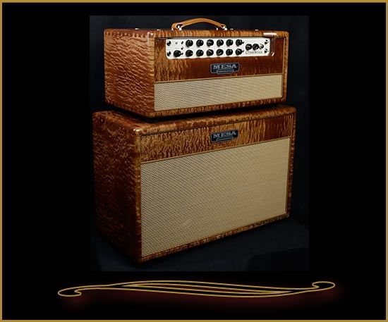 Private Reserve Sapele Lone Star Head and Cabinet from Mesa Boogie