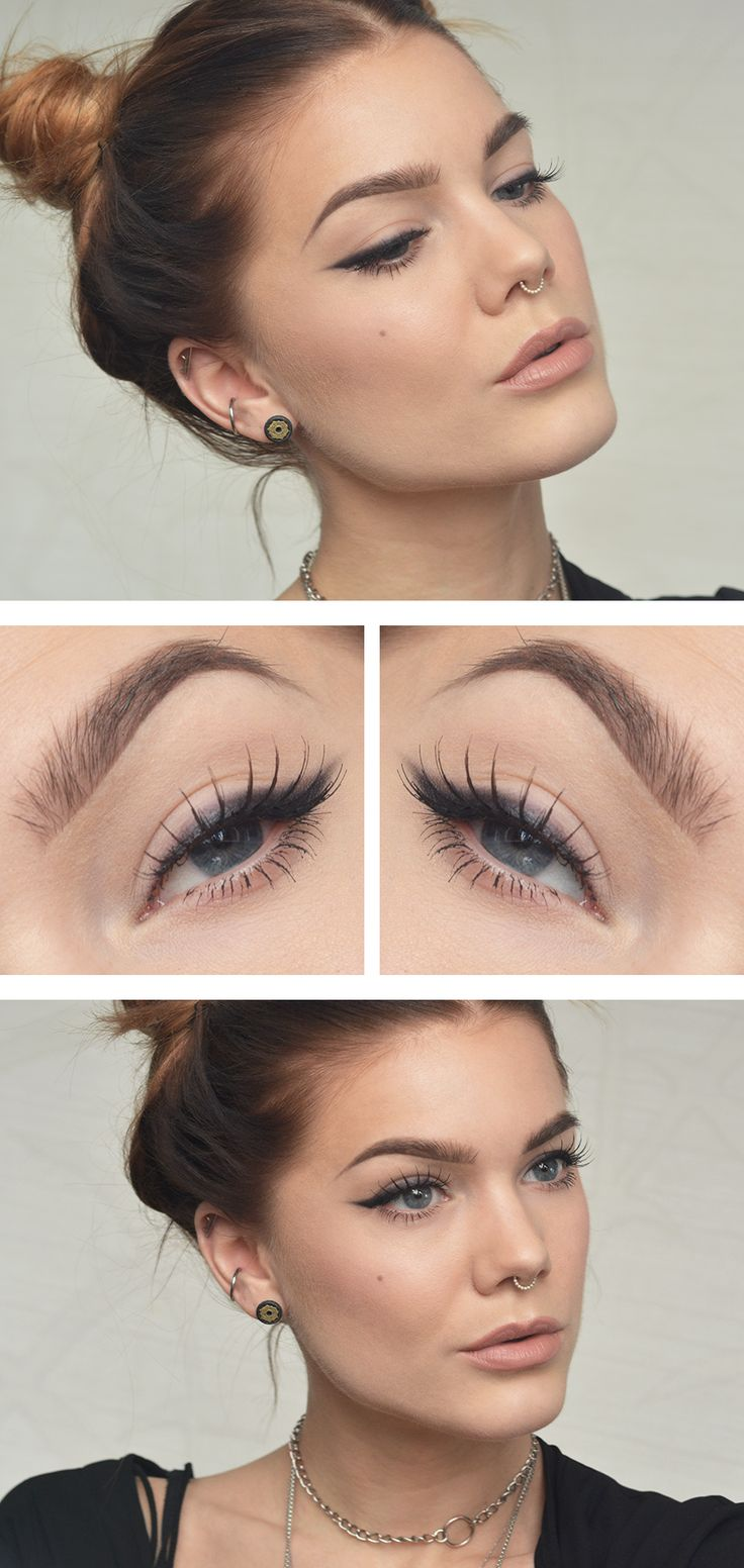 I also like this eye makeup, it's not as severe as eyeliner which is probably better for my eye shape :-)