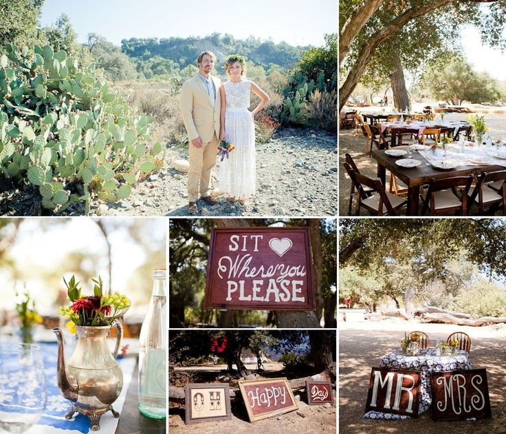 Bohemian Wedding Reception: Bohemian Wedding Theme, Tent