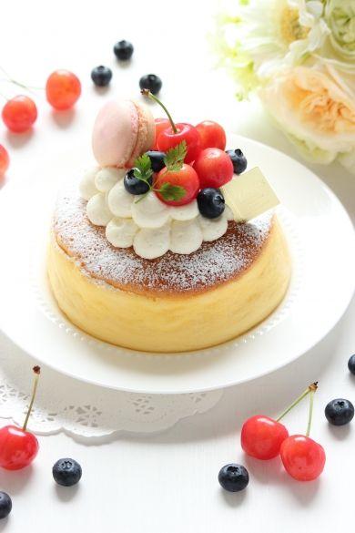 「さっぱり楽しめる☆ヨーグルトスフレケーキ」Minami | お菓子・パンのレシピや作り方【cotta*コッタ】