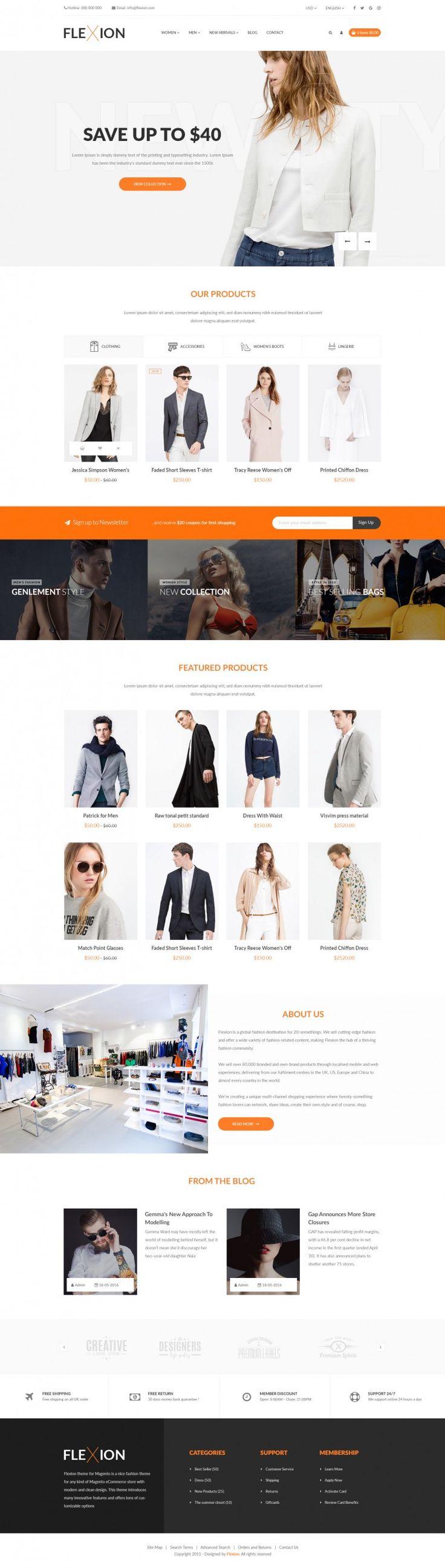 Flexion – Fashion E-Commerce Store