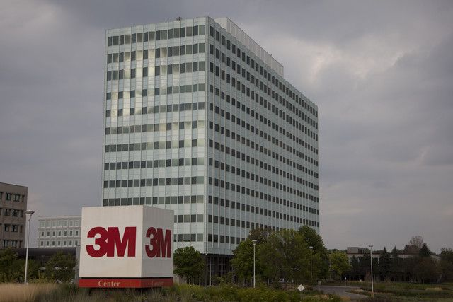 3M Co.'s Corporate Headquarters in St. Paul, Minnesota -- 3M is considered a bellwether for the global economy because it has businesses ranging from consumer goods to health care to auto parts and last year got 65 percent of its revenue outside of the U.S. (Photographer: Ariana Lindquist/Bloomberg)