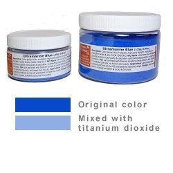 Ultramarine Blue - 0.9oz / 25g by MakingCosmetics Inc.. $3.25. Note: Item is Non-Returnable, Consists of Raw Materials. Cerulean Blue (sample size currently available only). Description: Color group: blue. Inorganic, high-purity pigment. Insoluble, but miscible in water and oils. CAS# 1345-00-2. INCI Name: Ultramarine blue. Properties: Provides superior color purity and saturation, outstanding dispersibility, no aggregate formation. Use: Can be tinted with titanium dioxide to c...