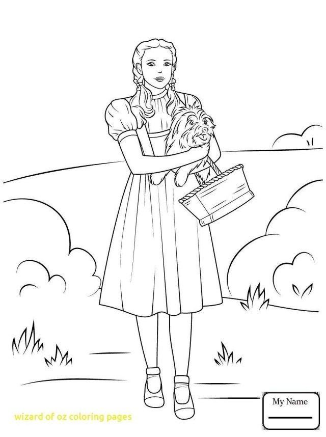 25 Great Picture Of Wizard Of Oz Coloring Pages Witch Coloring