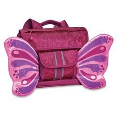£25.00 Bixbee Sparkalicious Ruby/Raspberry Fairyflyer backpack. Wings, on a rucksack, wings! Add in some sparkles...genius!