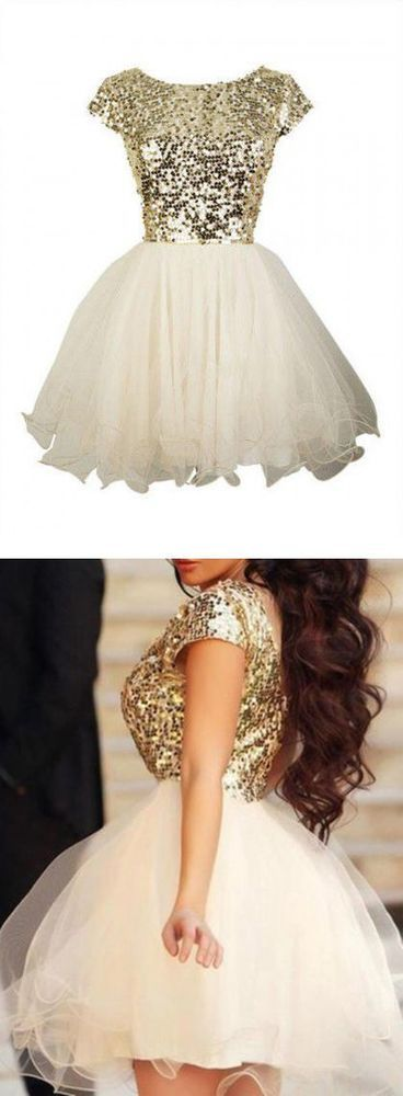 Gold+Sequin+Homecoming+Dresses,+Short+Sleeve+Prom+Dresses,+Sexy+Backless+Homecoming+Dresses,+Short+Prom+Dresses,+Cheap+Prom+Dresses The+Gold+sequin+homecoming+prom+dresses+are+fully+lined,+8+bones+in+the+bodice,+chest+pad+in+the+bust,+lace+up+back+or+zipper+back+are+all+available,+total+126+colo...
