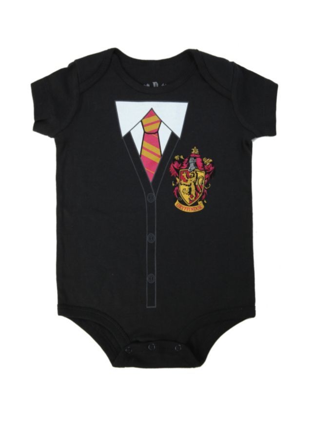 Black Bodysuit From Harry Potter With A Gryffindor Costume