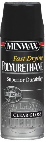 Minwax 33050 FastDrying Polyurethane Aerosol Gloss Finish Color Gloss Finish Model 33050 Car  Vehicle Accessories  Parts >>> More info could be found at the image url.