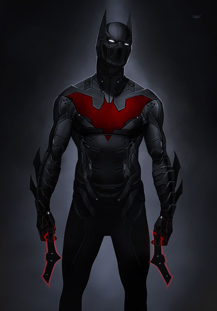 -- Batman Beyond 2.0 -- by yvanquinet.deviantart.com on @DeviantArt