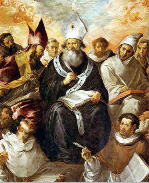 san basilio magno benedicto XVI orando praying castel gandolfo enciclicas oraciones exhortaciones apostolicas krouillong comunion en la mano es sacrilegio