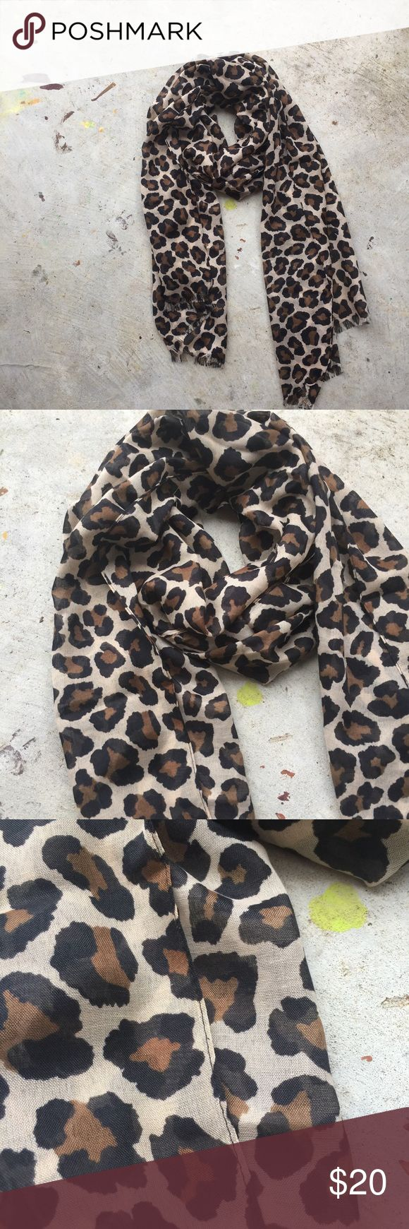 Animal Print Scarf Standard size. This would look fab with a black top and red heels or strappy sandals! RRB loves offers but is unable to trade at this time. ~{We are ALL beautiful.}~ NWOT. Bundle and save! Accessories Scarves & Wraps