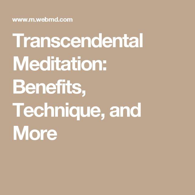 Transcendental Meditation: Benefits, Technique, and More