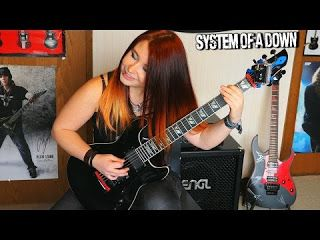 Jassy J: System Of A Down - Aerials - Instrumental  System Of A Down - Aerials- Album: Toxicity (2001) instrumental guitar cover by Jassy J =) MERCH =D  http://ift.tt/2ir0mgn...  ENG: 2017 starts cool! New SOAD instrumental cover!!! Aerials was actually one of my first covers but I decided to make a re-do since I got way better recording quality now haha! =D Hope you enjoy and sing along! \m/ Soon I will have covered everything from Toxicity XD PLEASE NOTE: I found the backingtrack on…