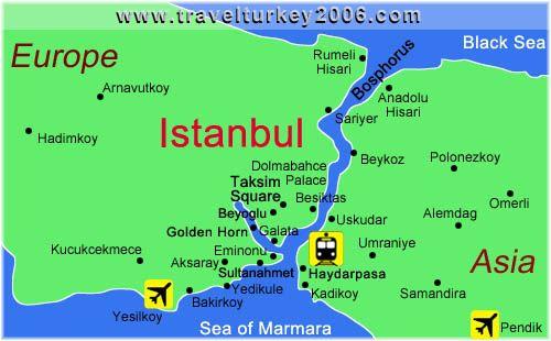 Istanbul, Turkey. #map #holidays #travel