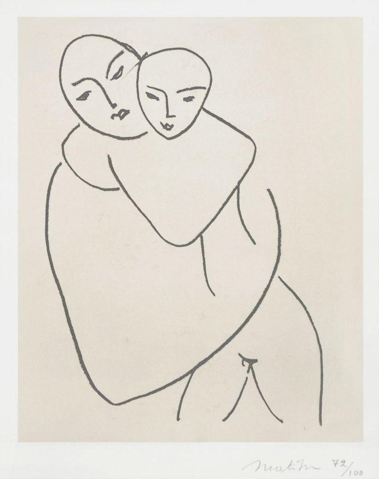 Matisse, Madonna and Child, 1950 - 1951