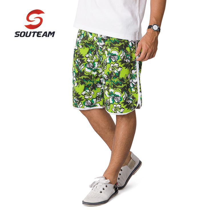 SOUTEAM Merk Strand Shorts Voor Mannen Zomer Zwemmen/Surfen Shorts Hot Beachwear Braziliaanse Mannen Boardshorts #2910116