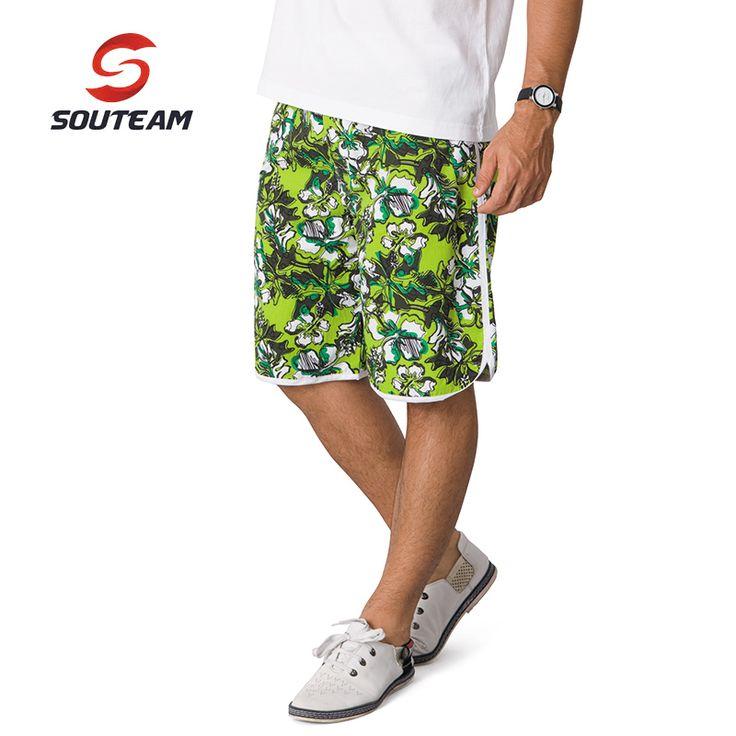 SOUTEAM Brand Beach Shorts For Men Summer Swimming / Surfing Shorts Hot Beachwear Brazilian Men Boardshorts #2910116