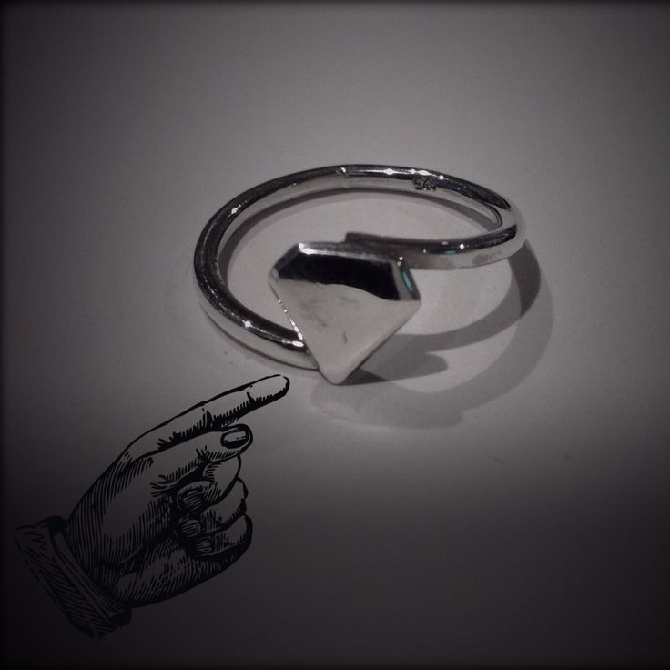 Handmade sterling silver 'super powers' ring
