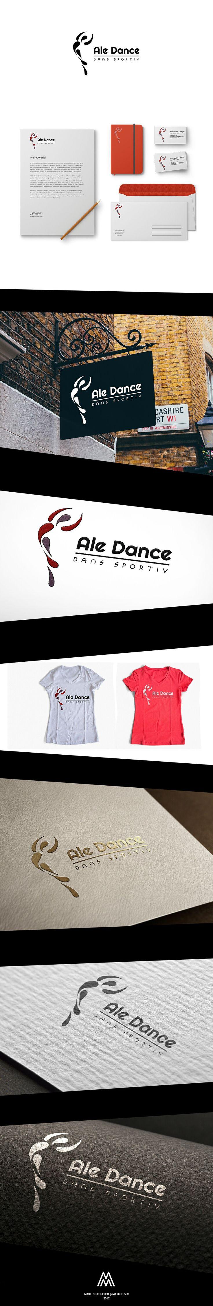 Ale Dance Logo / Branding / Identity - Markus GFX (Markus Fleischer)