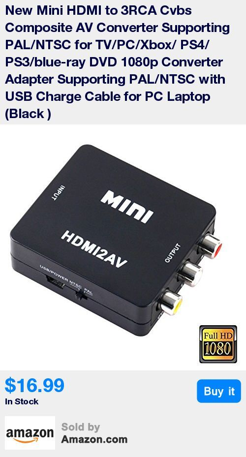 HDMI input from 480i to 1080P,3RCA (Yellow,White,Red)output.Compatible HDMI1.3 * Support NTSC and PAL two standard TV formats output,taking the SCALE video processing skill ,enhance processing to image brightness,contrast and color. * No need to install drivers,no power,a new generation of low-power digital chip processing, 24 hours non-stop work, not heat, work stability. * Using the 3D Compensation technology to eliminate jitter and fast motion pictures effectively.Supplying a better custo