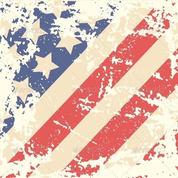 usa flag to colour