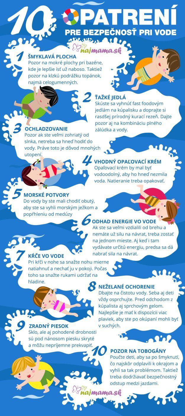 10 opatrení pre bezpečnosť pri vode   Najmama.sk