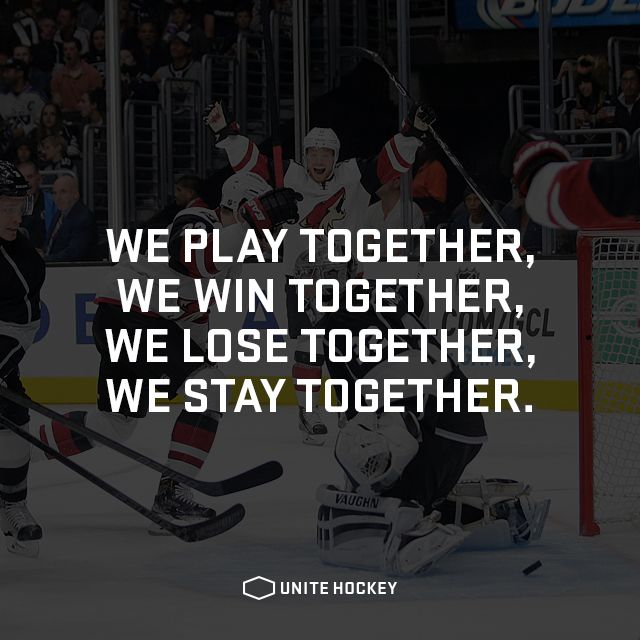 We play together, We win together, We lose together, We stay together. #quote…