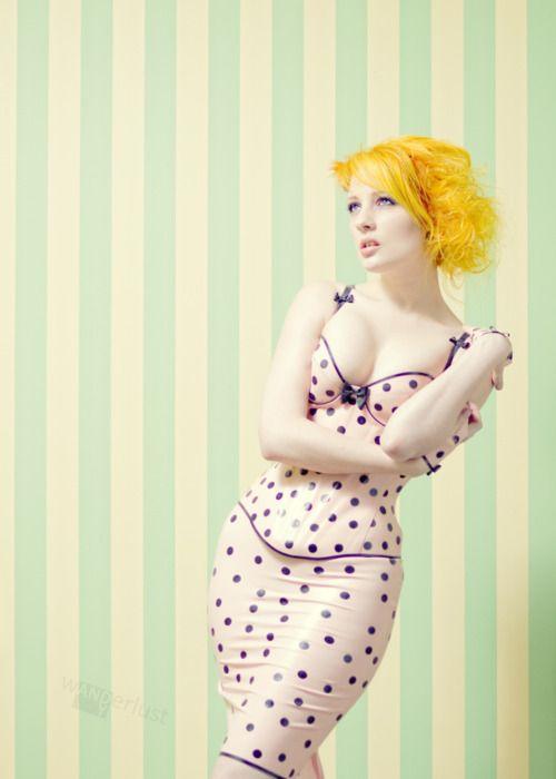 Bright yellow hair #bright #neon #hair