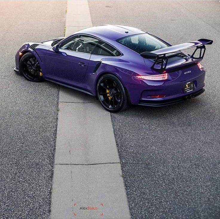 porsche 991 gt3 rs painted in ultraviolet purple photo taken by allexbellusphoto on instagram