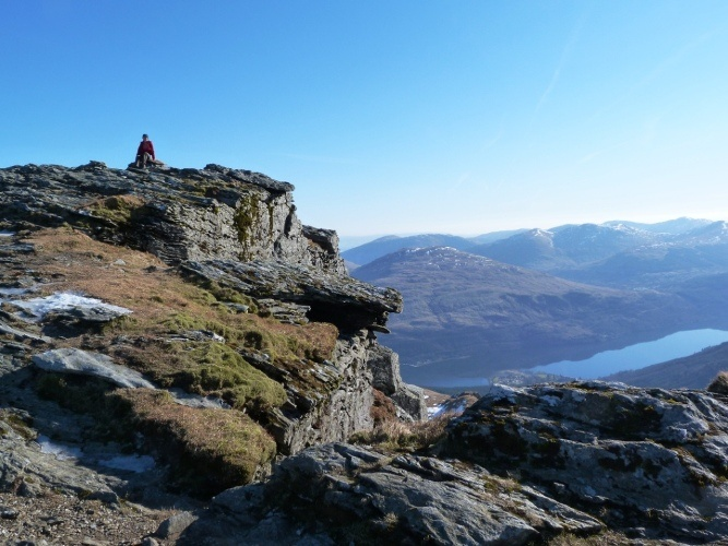 On the Cobbler, Arrochar Alps