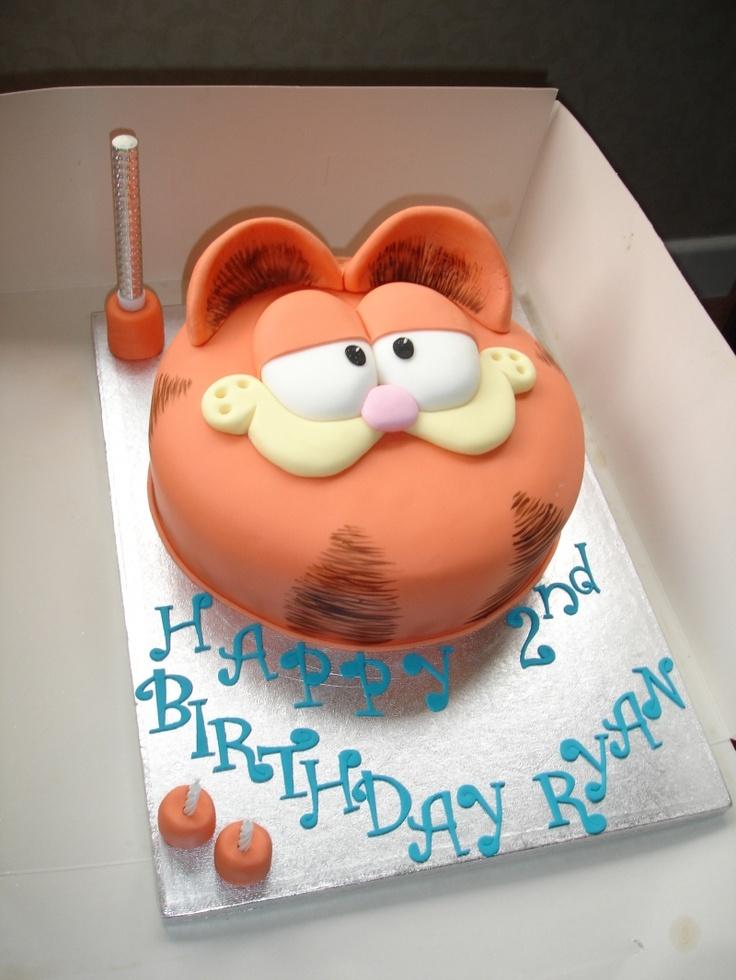 garfield the cat cake