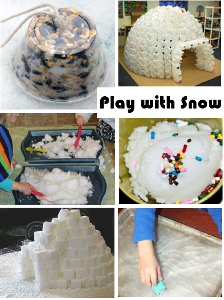 snow themed activities