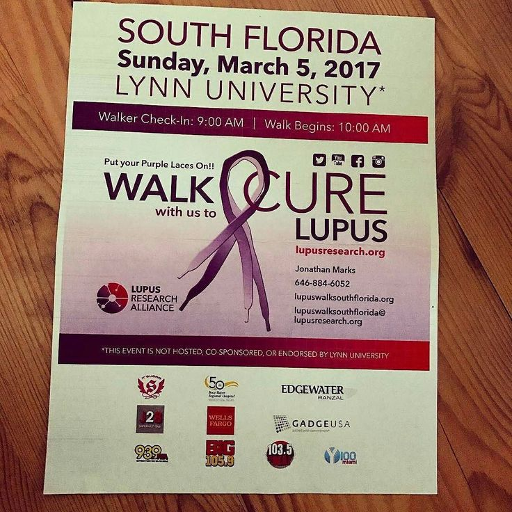 Credit to @j28sandwichbar : @lupusresearchalliance #walkwithus march 5th @lynnuniversity we will be there!  #hollywoodtapfl #hollywoodfl  @hollywoodtapfl#HollywoodTapFL #HollywoodFlorida #HollywoodFL #HollywoodBeach #DowntownHollywood #travel #traveling #TFLers #vacation  #travelingram #igtravel #lupus #cure #