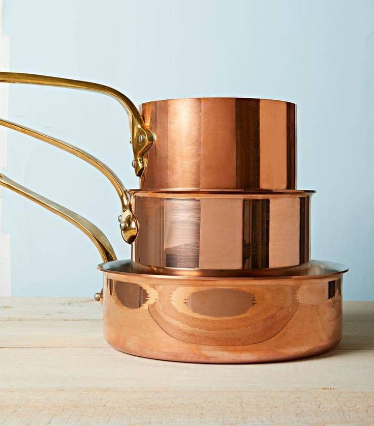 how to polish copper pots